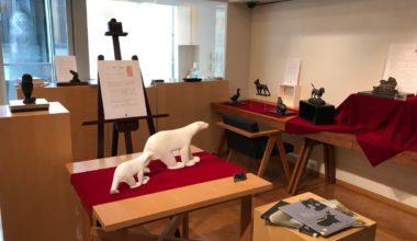 メゾン・デ・ミュゼ・デュ・モンド 3Fアートスーペース 「ムラージュ(複製彫刻)がくれる癒し~動物彫刻特集」